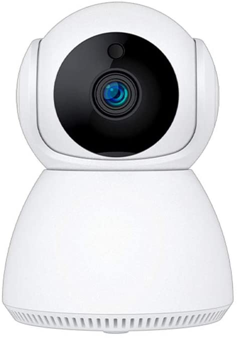 M@cro-Video 1080P Smart WiFi, Security/Surveillance IP Camera, Night Vision/Motion Detection/Ptz for Baby/Elder/Pet, 2 Way Audio, Cloud Service/TF Card Support, V380 App for iOS/Android. 2.4G Wireless