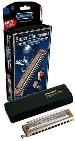 ARMONICA CROMATICA - Hohner (270/48Bb) Super Chromonica (Nota Sib) (48 Voces con Cambio)