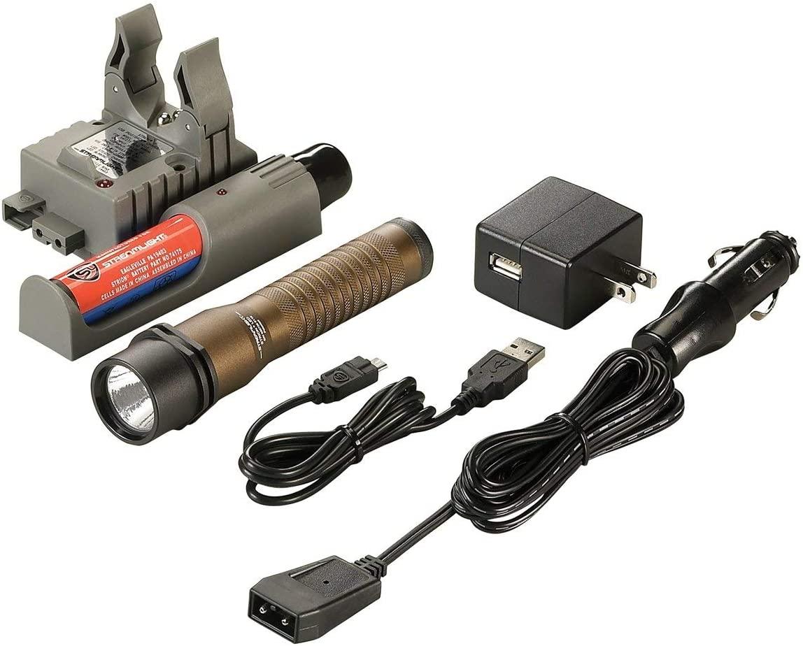 Streamlight 74367 Strion LED 120/Dc Piggyback, Mud Tan Brown
