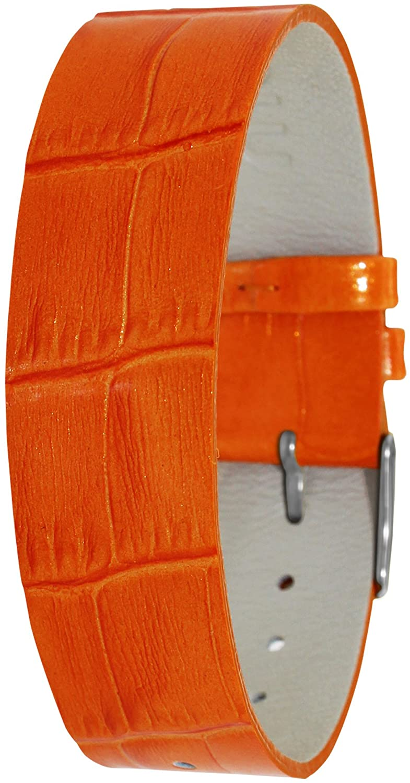 Moog Paris CC-12 Alligator Texture Calf Leather Patent Finish Watch Strap
