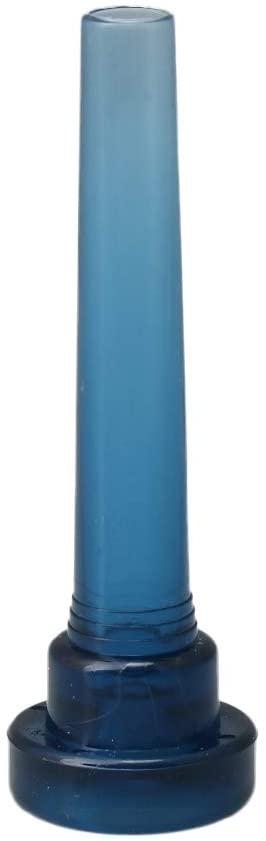 Mxfans 86x27mm Blue Plastic 5C Trumpet Mouthpiece Musical Instrument Accessories