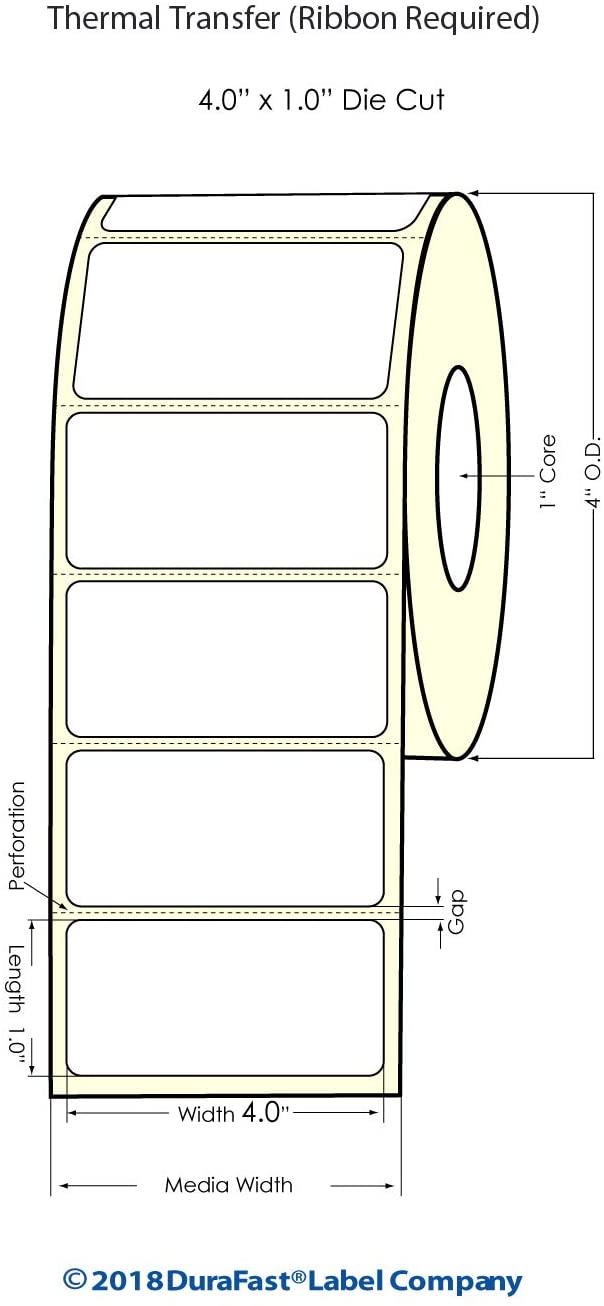 Thermal Transfer Label Paper 4