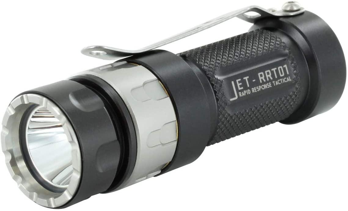 JETBeam RRT-01 50k Hours Handheld LED Flashlight