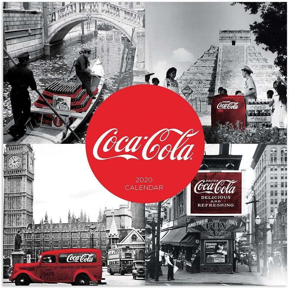 TF Publishing 2020 Coca-Cola: Vintage Wall Calendar