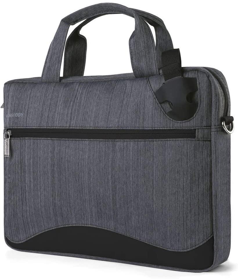 15 inch Secure Anti Theft Laptop Organizer Bag (Black) for Lenovo ThinkPad E580 Dell Inspiron 15 7000 Vostro 15 Acer Nitro 7 Asus VivoBook S15 HP Spectre