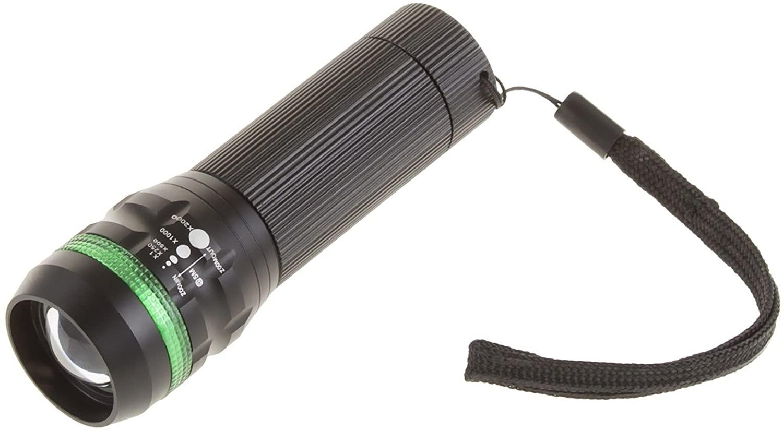 Tactical Flashlights CREE LED Tactical Zoom COB Flashlight 3 AAA Batteries 300 Lumen