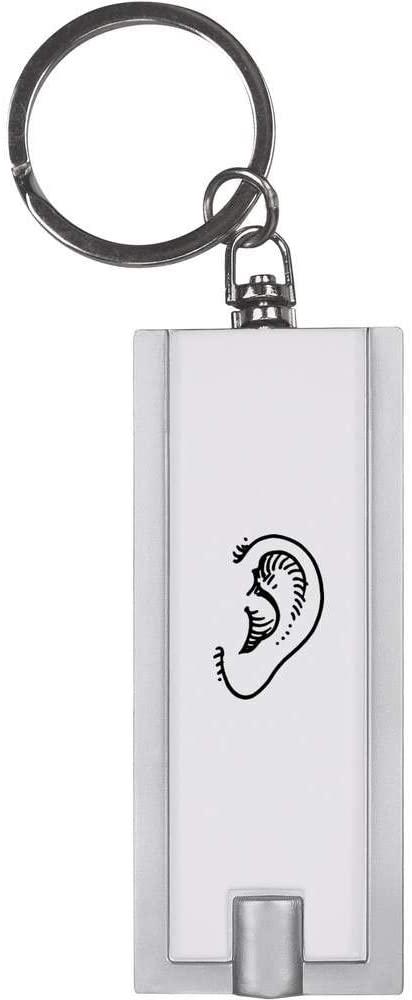 Azeeda 'Ear' Keyring LED Torch (KT00013218)
