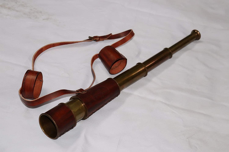 Nautical Vintage Marine Spyglass Brass Antique Telescope 18