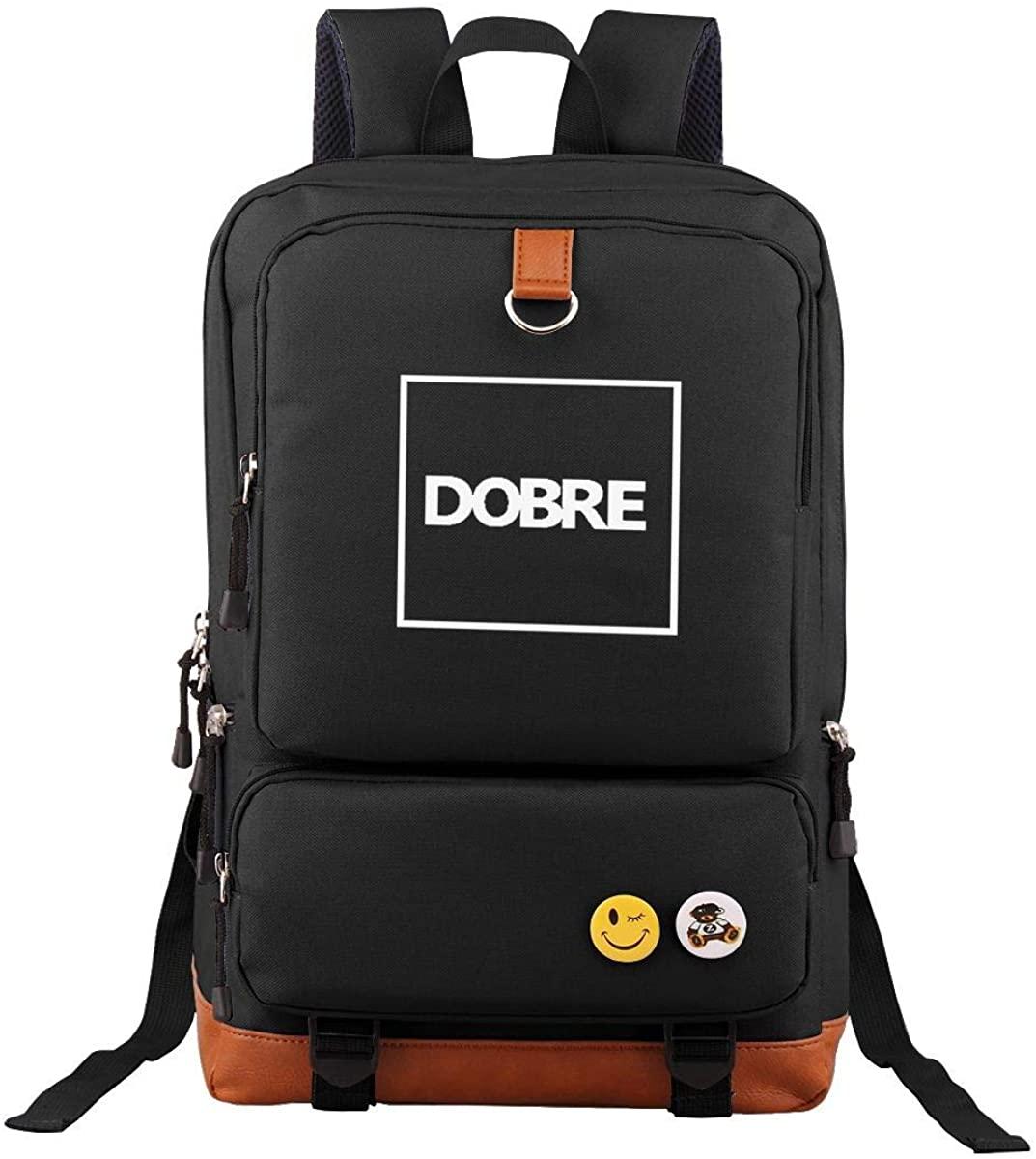 Tour Backpack Dobre Brother Logo Laptop Bag Vintage Bookbag Students Daypack
