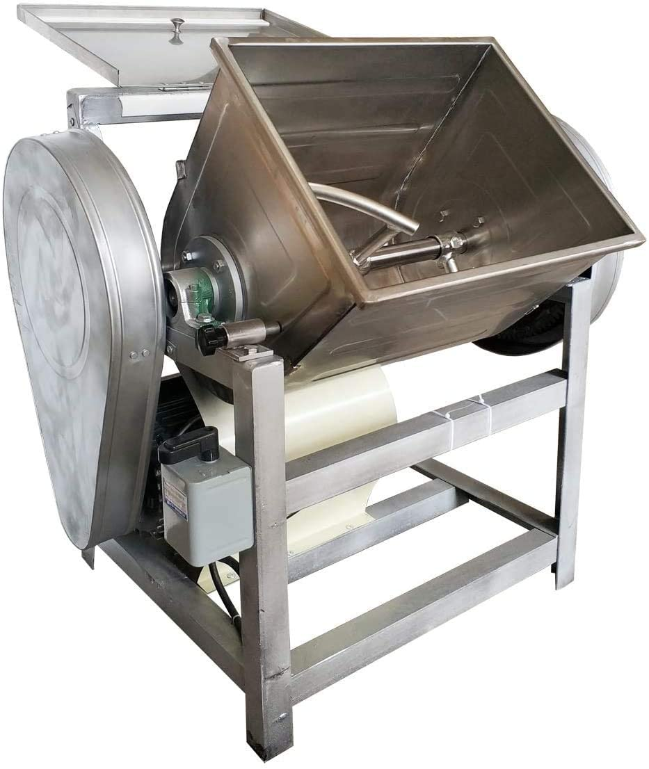 INTBUYING Commercial 55LB (25KG) Dough Mixer Stand Mixers 110V Electric Dough Blender Mixing Machine