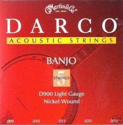 Darco Banjo Nickel Wound Lite 5-String D900