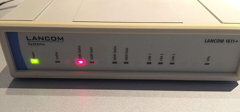 LANCOM 1611+ - Router - ISDN - 3-port switch - desktop