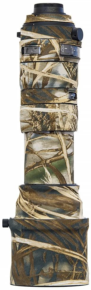 LensCoat Lens Cover for Sigma 150-600 mm f/5-6.3 DG OS HSM Sports (Real Tree Max4) Camera Camouflage Neoprene Lens Protection lcs150600sm4