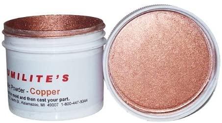 Alumilite copper metallic powder