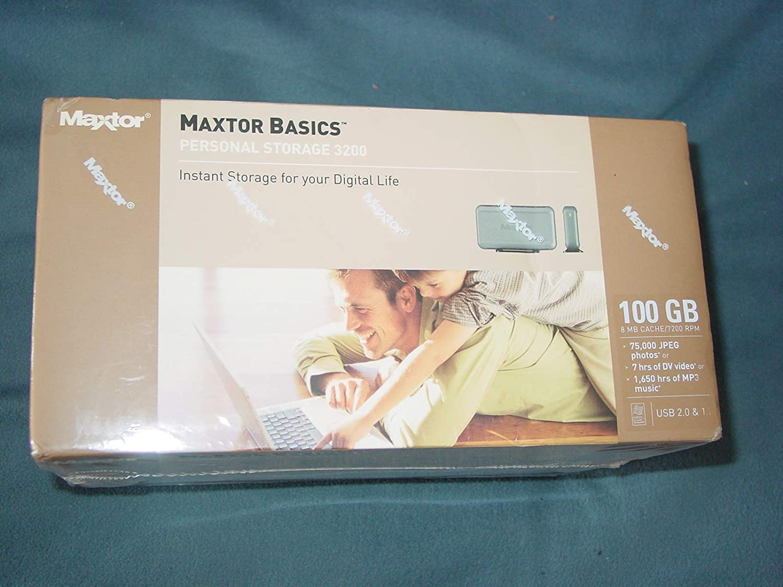 Maxtor Basics Personal Storage 3200 160 GB External Hard Drive