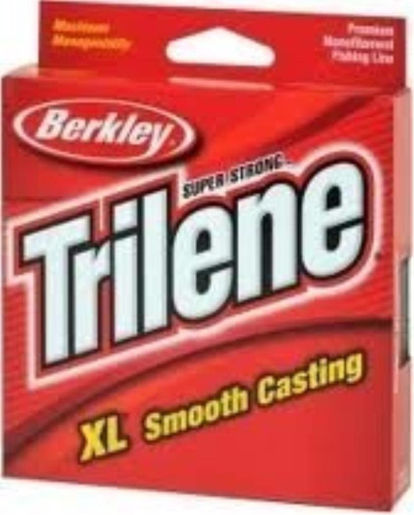 Trilene XL Smooth Casting Service Spools - Clear Fishing Line - 12 lb. test