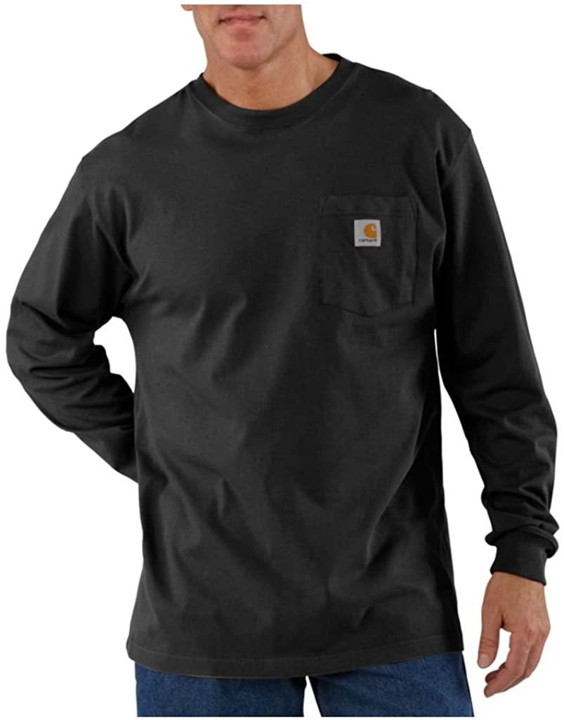 Carhartt Men's K126 Long Sleeve Workwear Crewneck T-Shirt