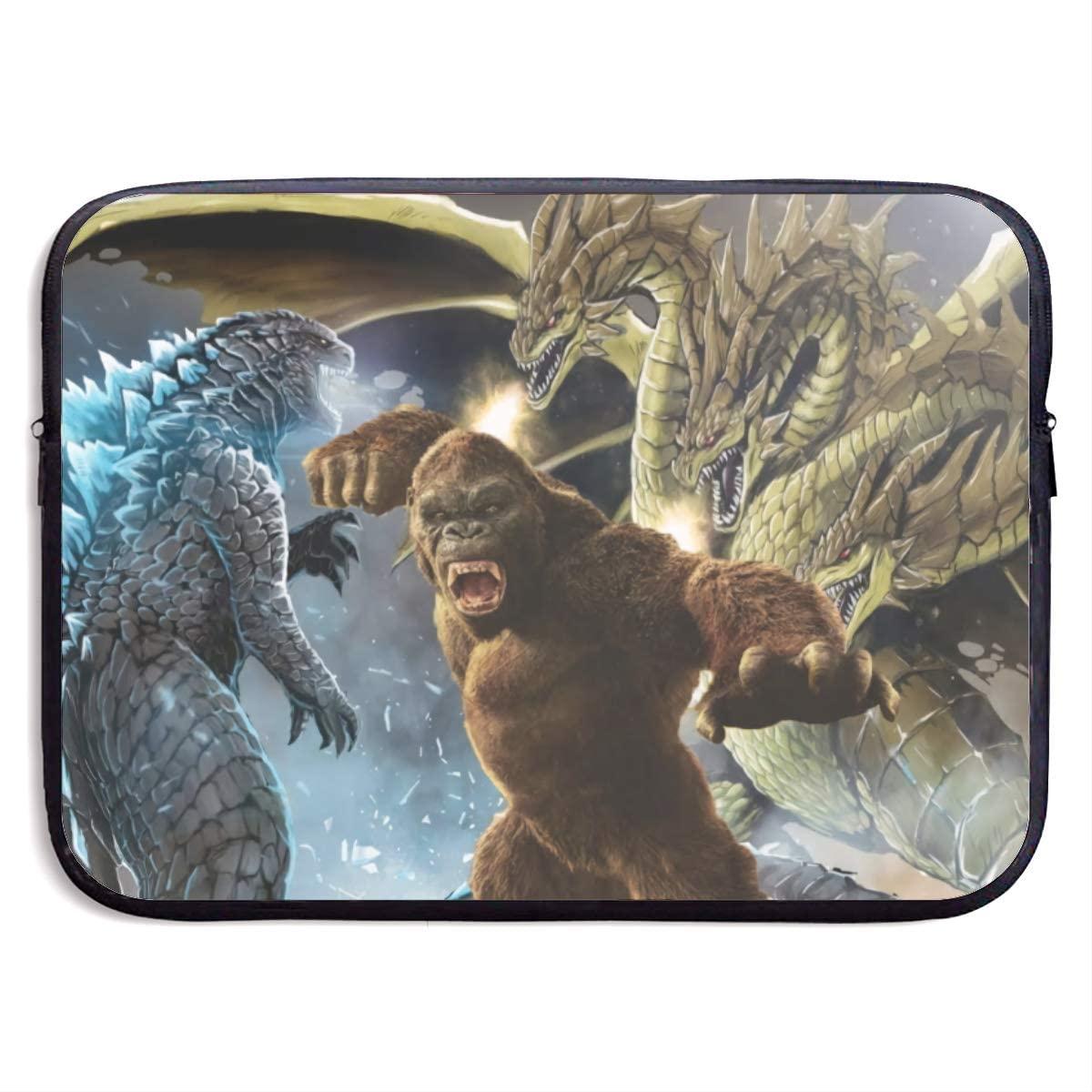 Godzilla Laptop Bag, Laptop Case, Briefcase Messenger Shoulder Bag for Men Women 15 Inch