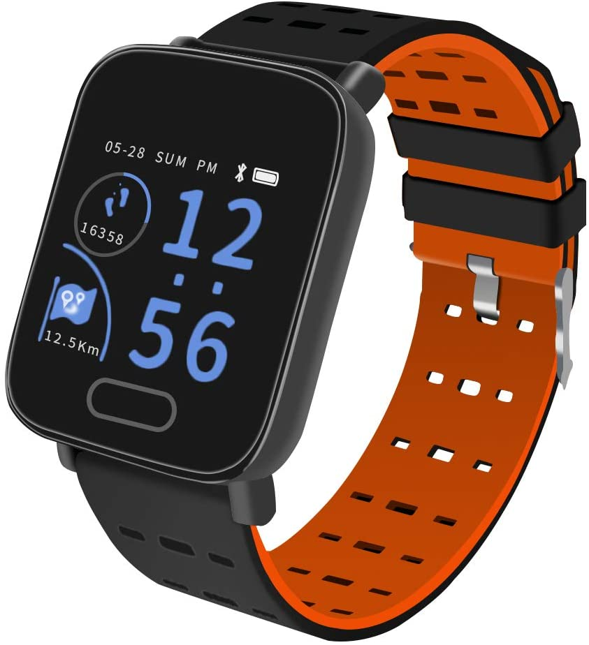 Martin's HomeM5 Sports Smart Watch, Upgrade Fitness Tracker, Smart Bracelet with 1.3