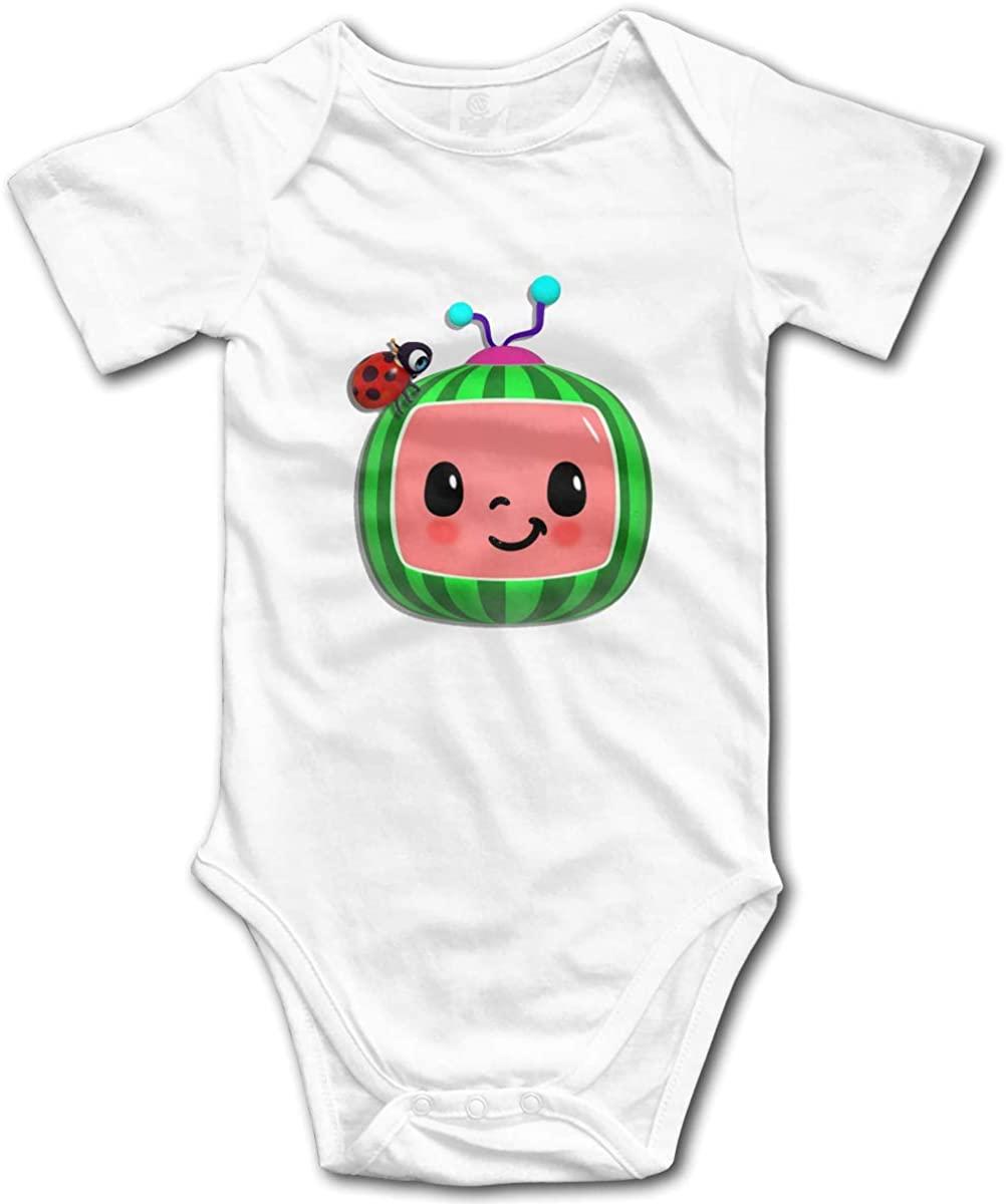 AP.Room Cocomelon Small Child Unisex Cotton Baby Underwear Short Sleeve