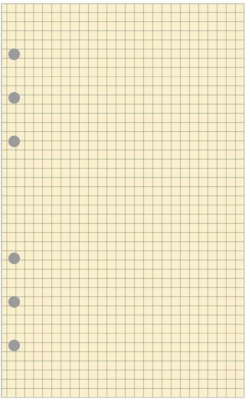Exacompta–28211E–Squared Refill Pad for Exatime 21Organiser–40Sheets, Ivory