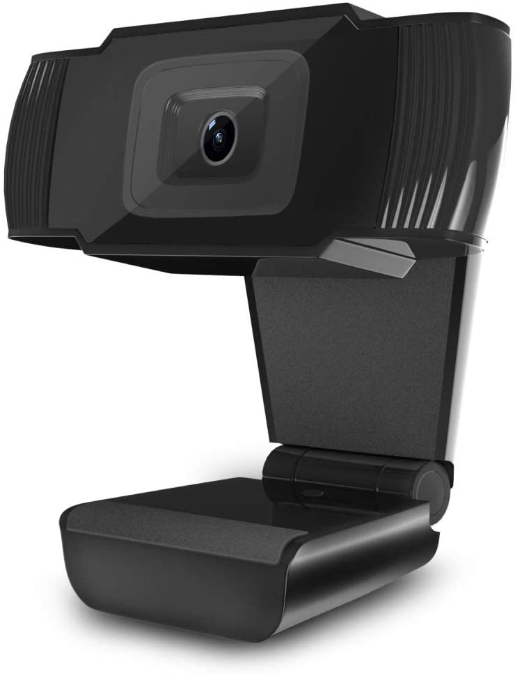 s61Ylu Webcam with Built-in HD Microphone Drive Free Auto Focus HD Web Cam Black