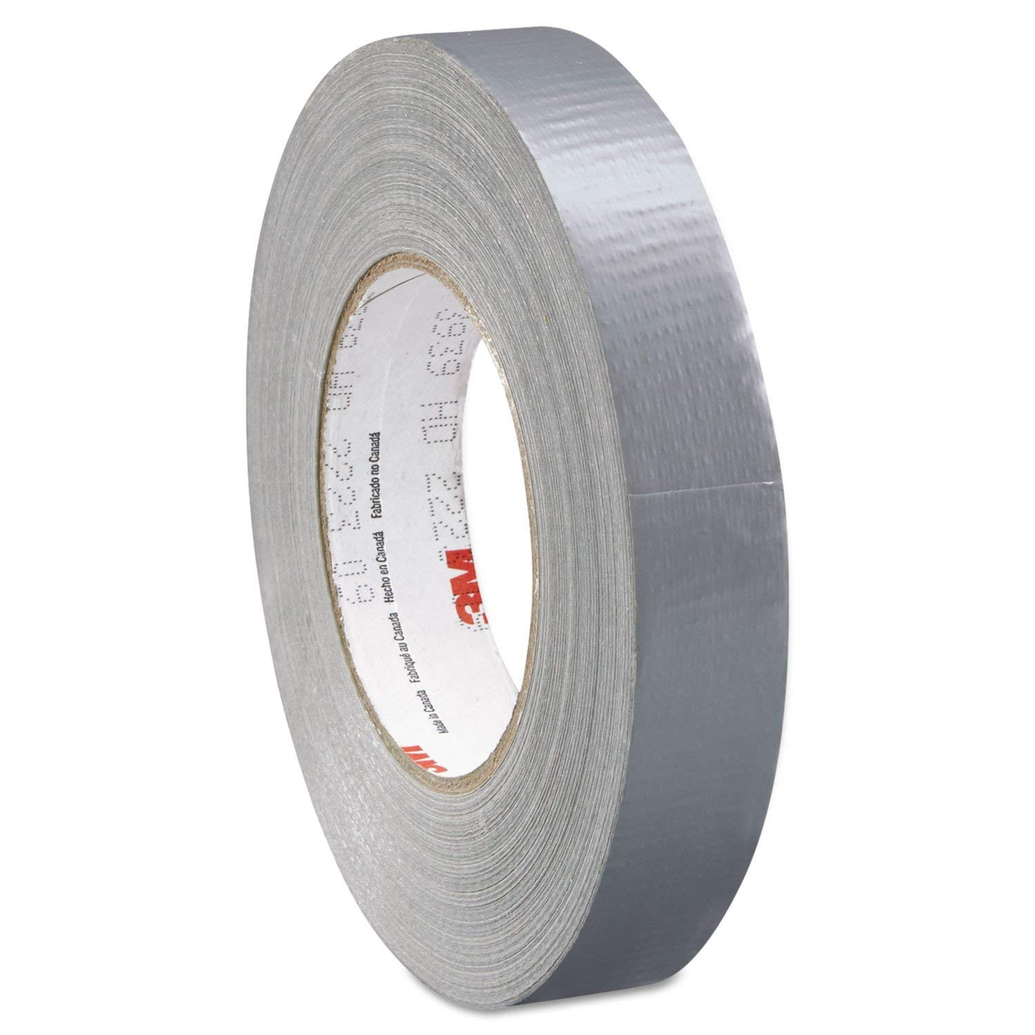 3M 3939 Heavy Duty Duct Tape, 200 Degree F Performance Temperature, 25 lbs/in Tensile Strength, 60 yds Length x 0.94