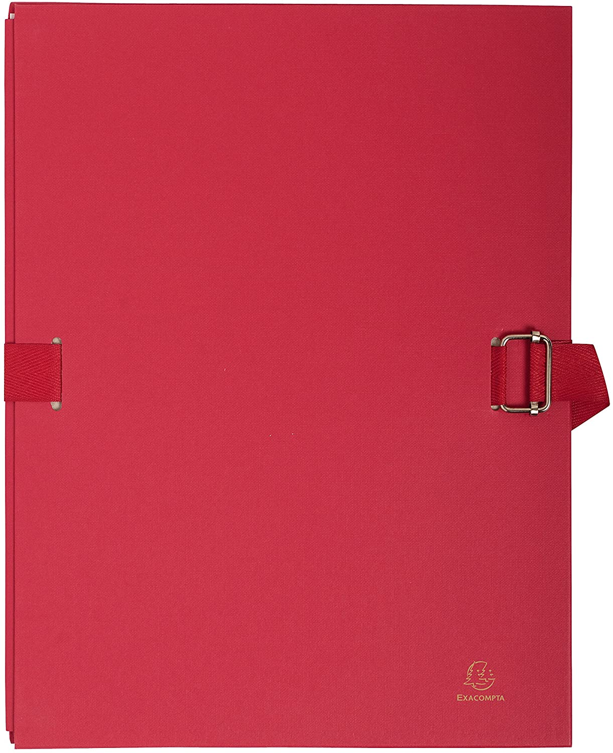 Exacompta 24 x 32 cm Expanding Folder, Expands up to 13 cm - Red