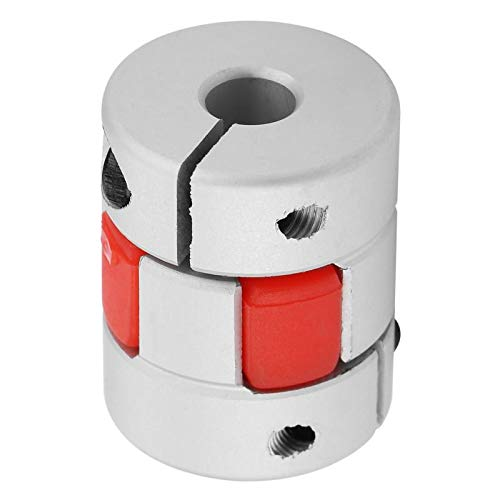 Fevas 66mm D20 L25 Flexible Plum Shaft Coupling CNC Stepper Motor Encoder Coupler Flexible Coupling Shaft Coupler