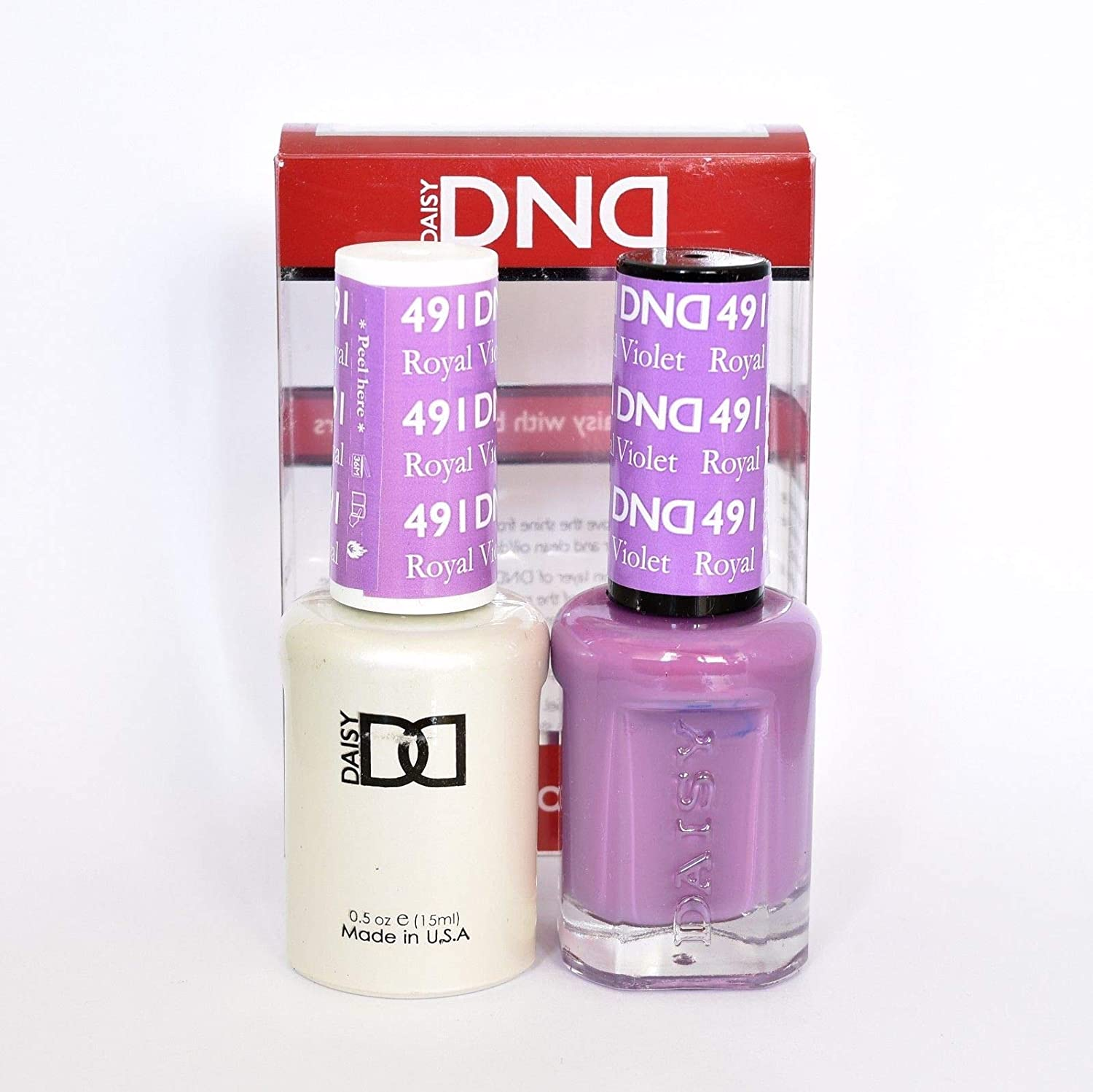 DND Gel & Matching Polish Set (491 - Royal Violet)