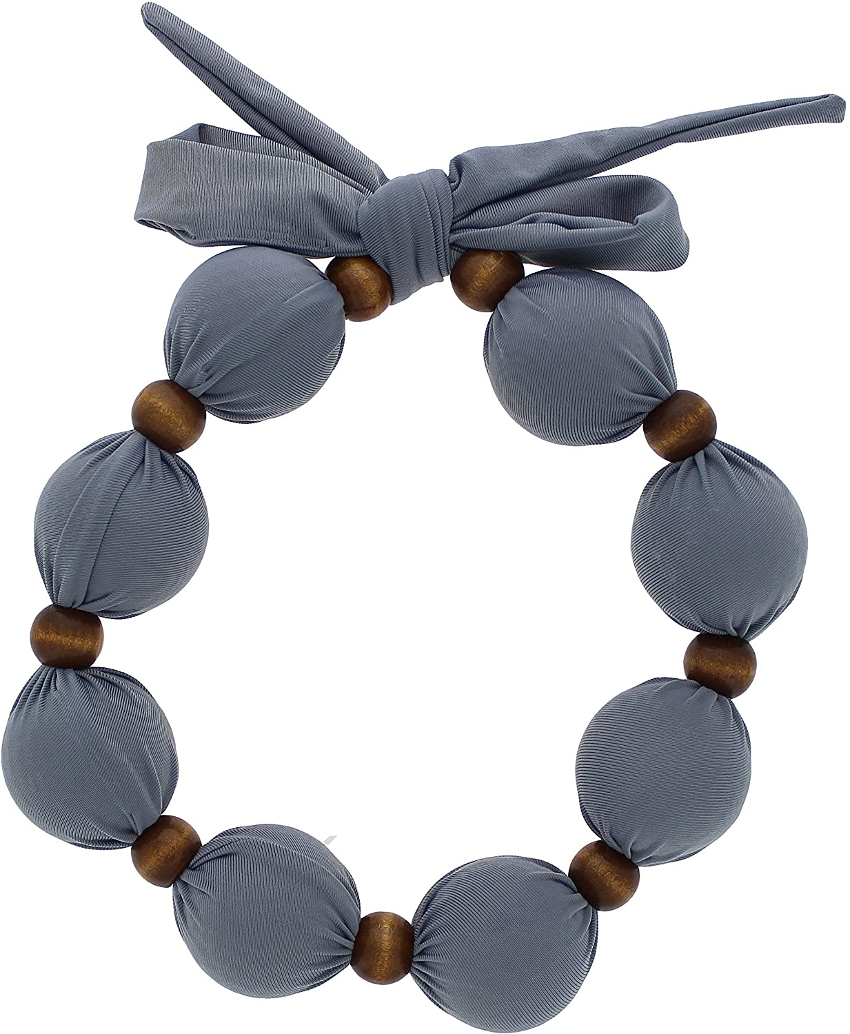 Nano-Ice Cooling Necklace - Grey | Beat The Heat in Style! | Take Out of Freezer for Hours of Cooling Relief!