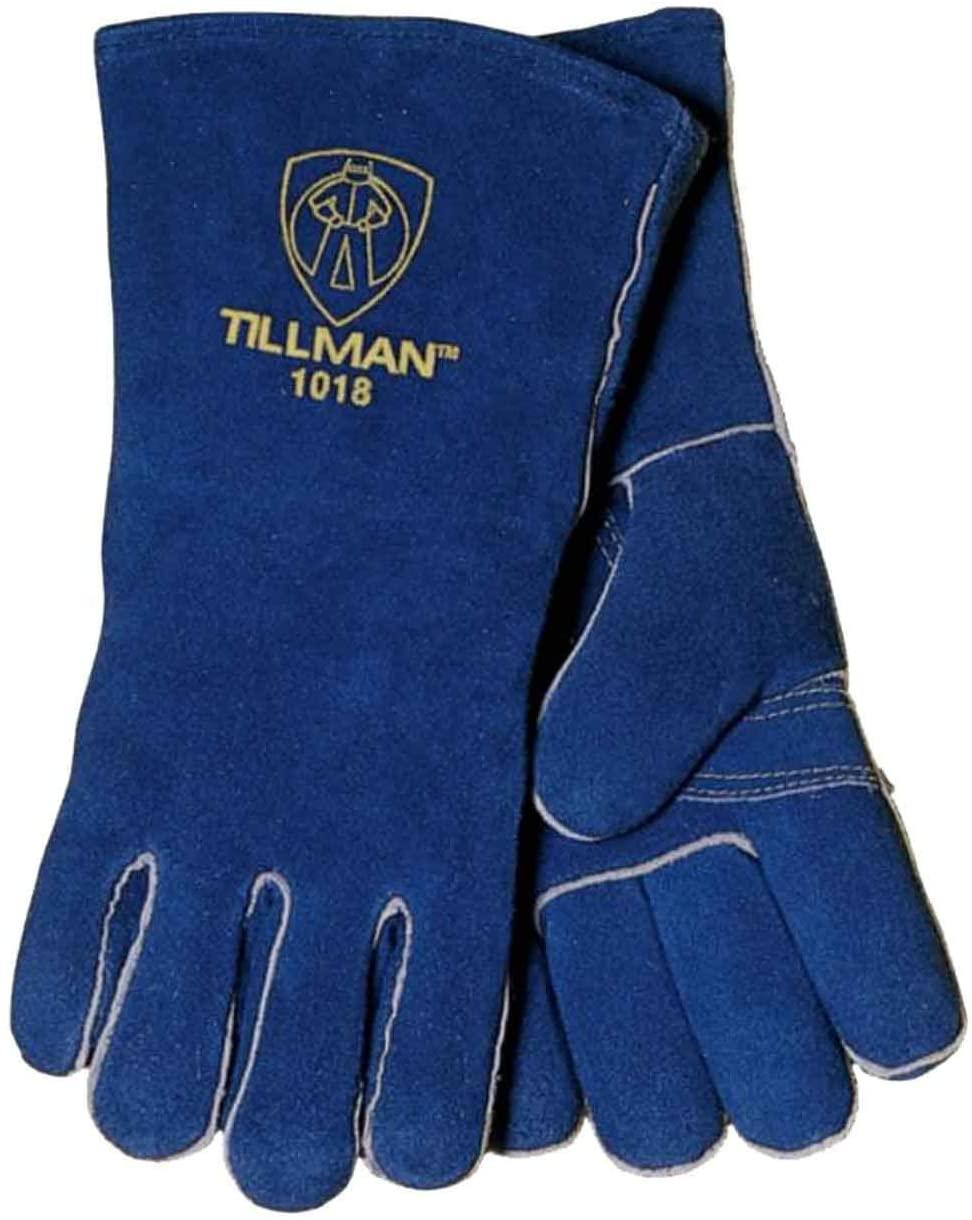 Tillman 1018W Women's Slightly Select Cowhide Welding Gloves, X-Small