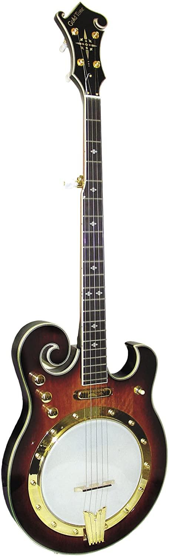 Gold Tone EBM-5 Electric Banjo (Five String, Tobacco Sunburst)