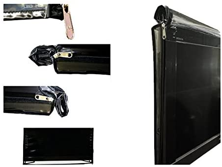 ADITYA Television Accessories : 32 Inch Led Tv Transparent Safety Covers(Dual Zip Closures) with Free Remote Cover