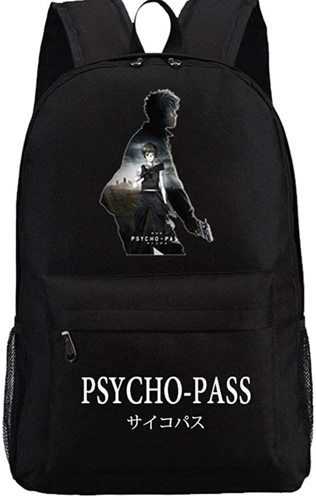 Anime Psycho Pass Backpack Men Women Teenages Laptop Bags 2