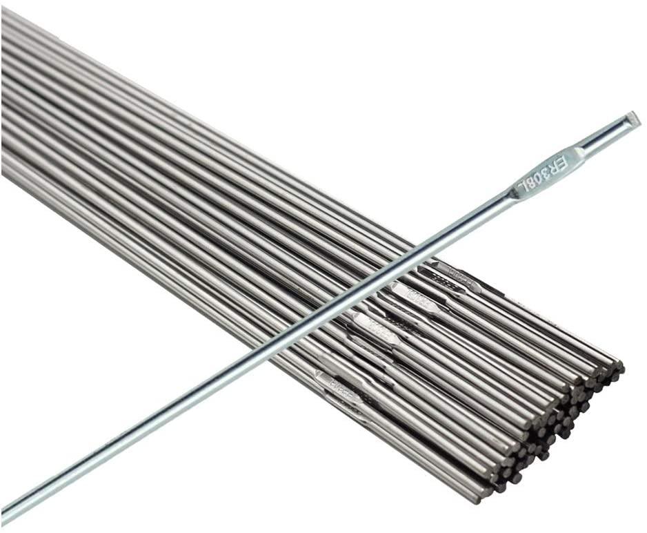 WeldingCity 1-Lb ER308L Stainless Steel TIG Welding Rods 1-Lb 1/16