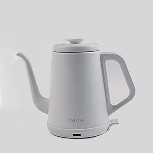 Electric Kettle Household Stainless Steel Fast Electric Kettle Kettle (Color : White)