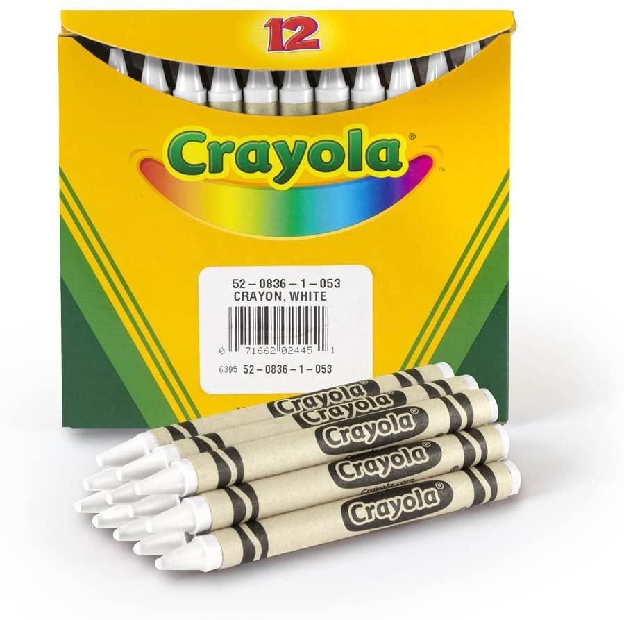 Crayola 52-0836-053, Standard, White