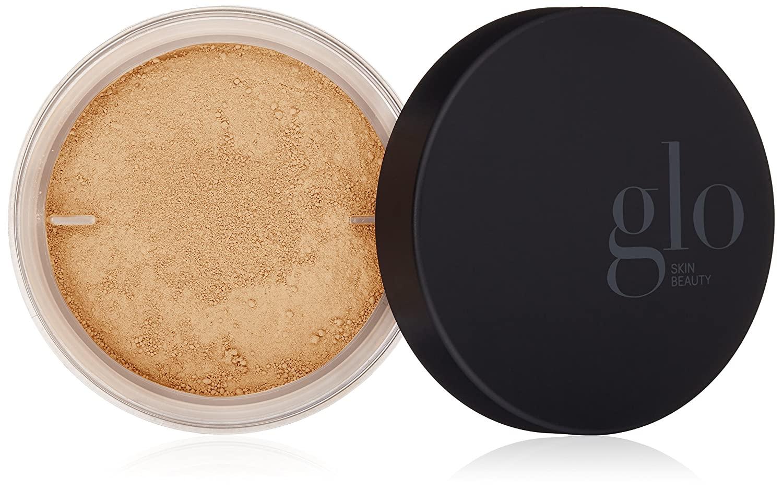Glo Skin Beauty Loose Base - Golden Light - Illuminating Loose Mineral Makeup Powder Foundation - Dewy Finish - 9 Shades