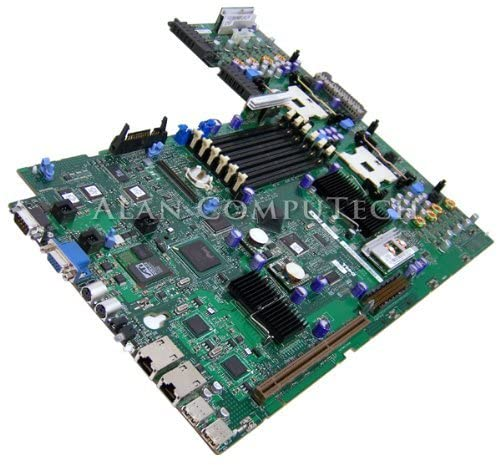 Dell PowerEdge 2800 2850 Dual CPU System Board T7916 (Renewed)
