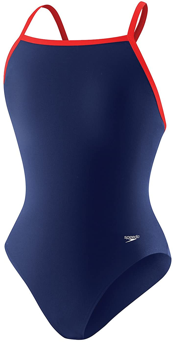 Speedo Womens Solid Flyback Training Suit 819016H