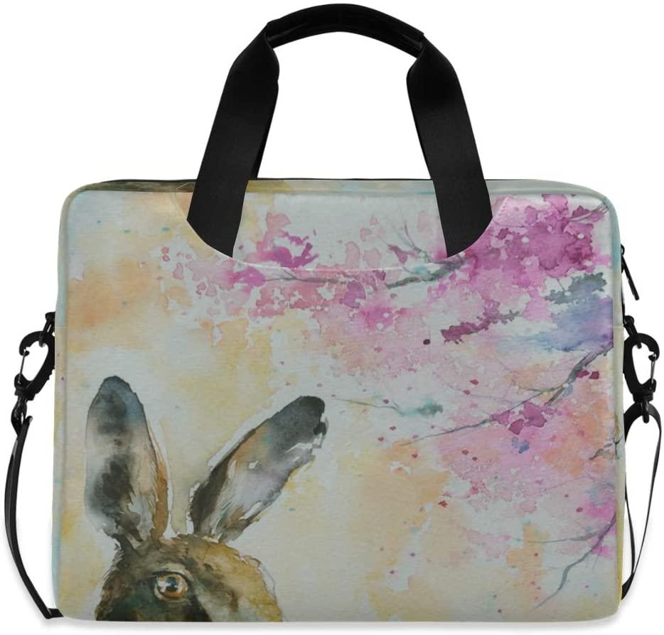 Laptop Bag, Spring Rabbit Laptop Briefcase Bag, 16 Inch Slim Laptop Backpack Laptop Case