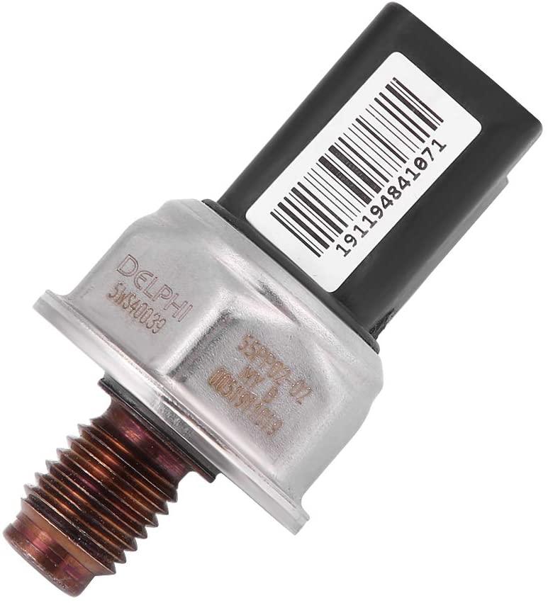 Fuel Rail Pressure Sensor 55PP0202 Car High Pressure Fuel Rail Sensor Fit for Ford Peugeot 2.0 HDI TDCI 5WS40039 1570F9 1570J3 1570N5 1570J4 9307Z527A