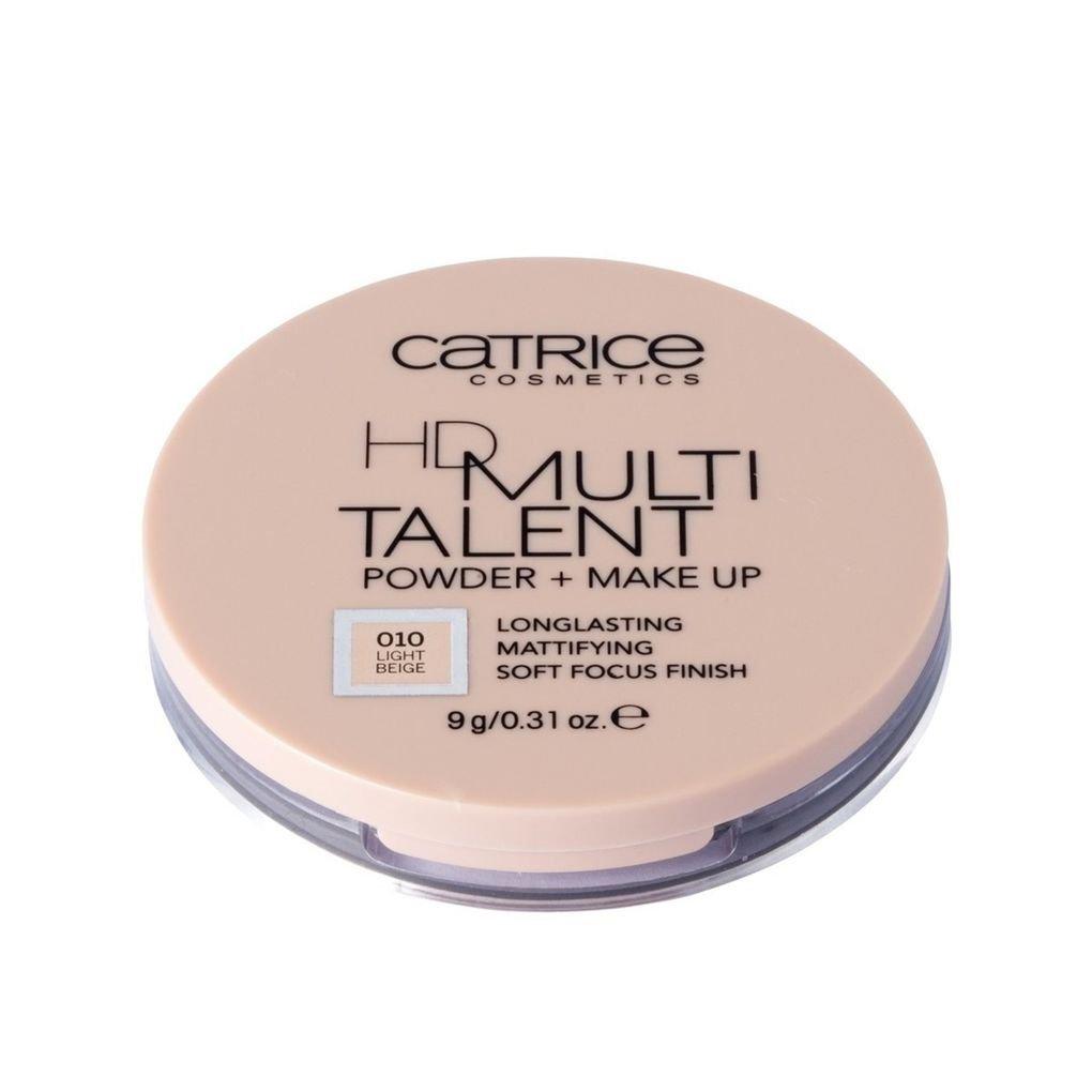 Catrice HD Multi Talent Powder + Make Up Longlasting Mattifying Soft Focus101 Light s Finish 9 g. 010 Sight Beige