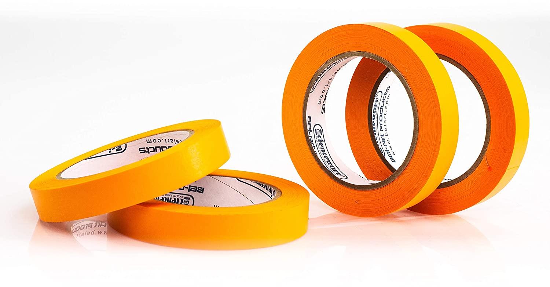 Bel-Art Products F13488-0075 Orange Write-On Label Tape, 3/4