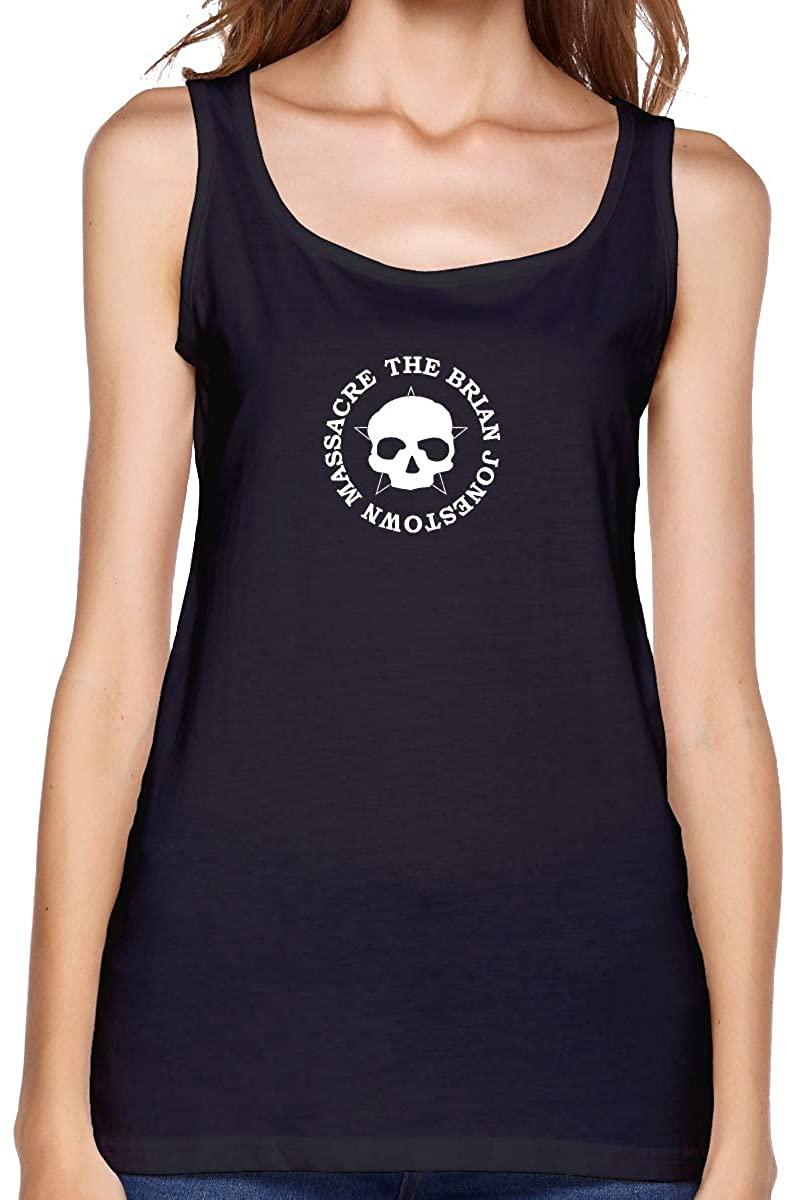 FankTasf The Brian Jonestown Massacre Women's Casual Vest Summer Graphic T-Shirt Personality Printing