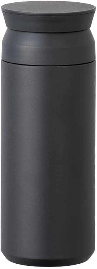 TRAVEL TUMBLER - Insulated Bottle (Black, Large)