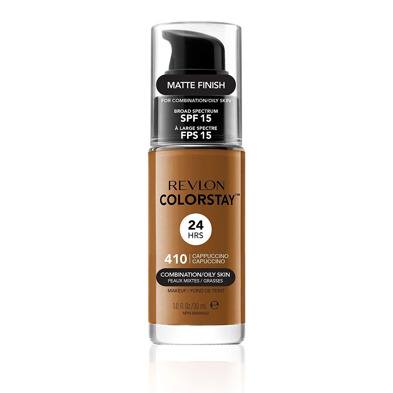 Revlon Colorstay SPF 15 Makeup Foundation for Combination/Oily Skin, Cappuccino, 1 Fl Oz