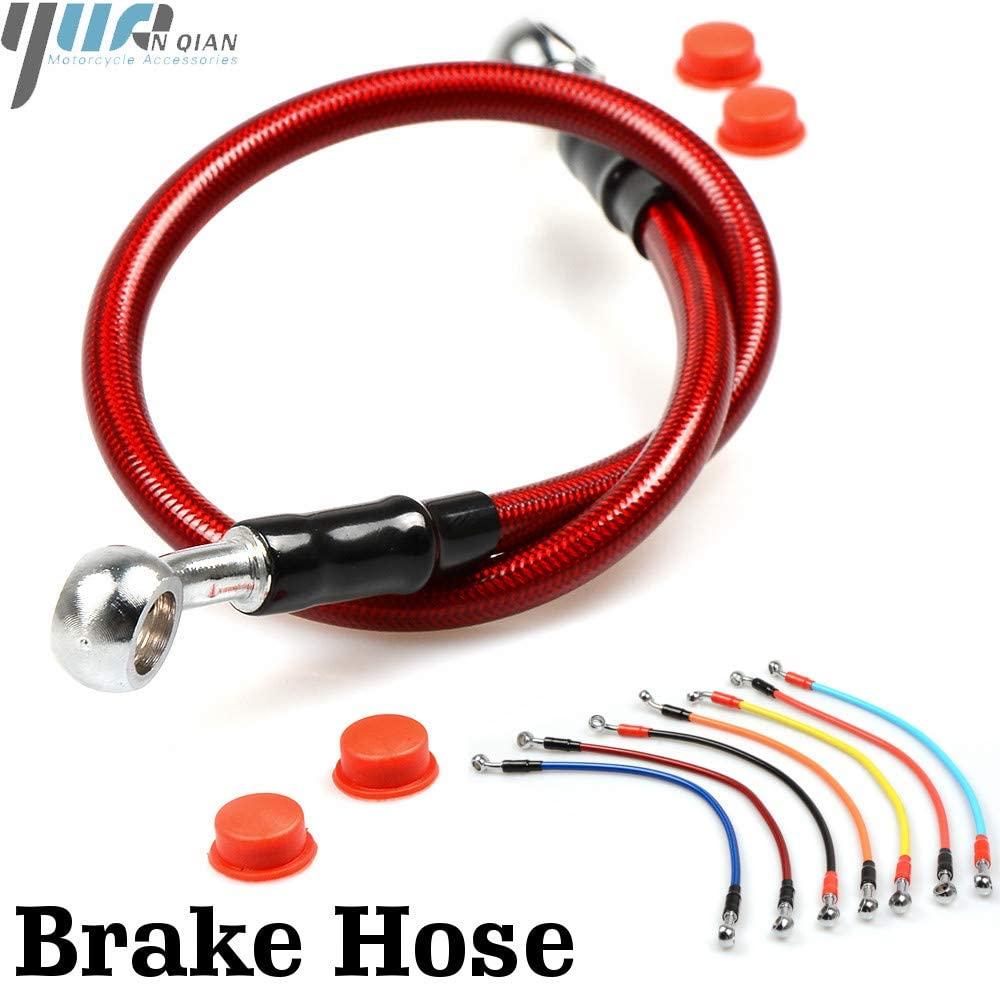 Accessories Motorcycle Brake Pipe Tube Brake Hose Line 900-1100mm Universal Fit ATV Dirt Pit Bike for Honda YZ80 85 YZ125X WR450F YZ250F