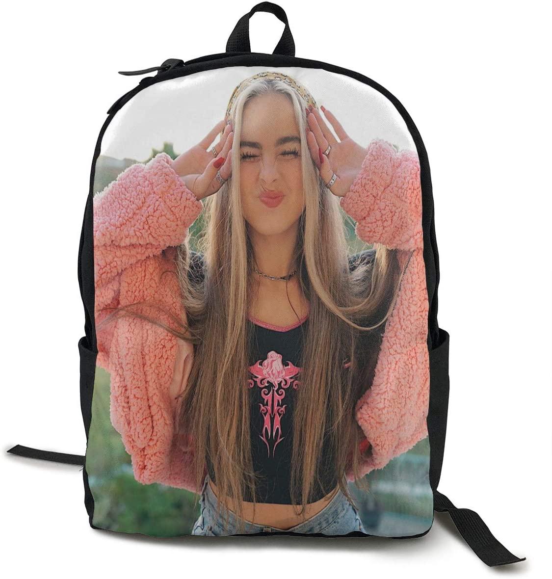Addison Rae Lightweight Multi-Function College School Laptop Backpack